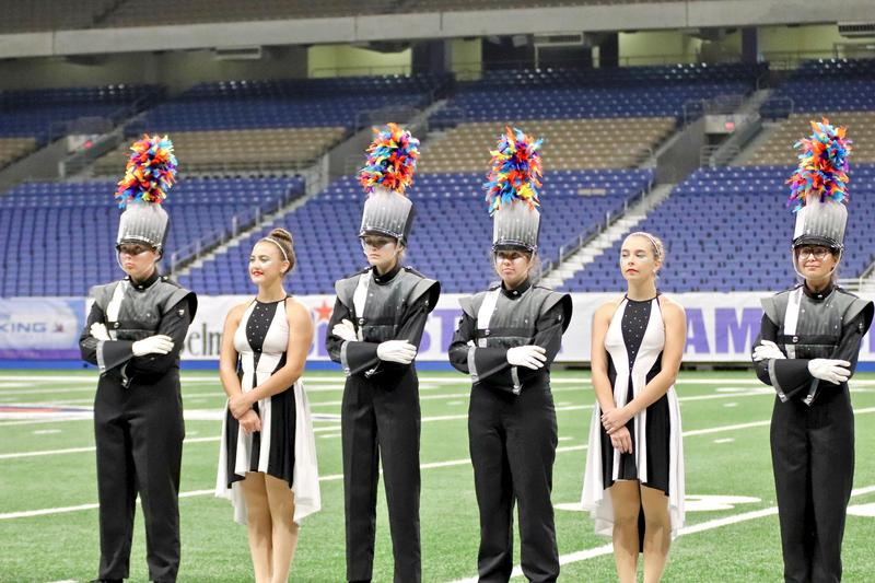 Esprit de Corps Shines at State Marching Contest Thumbnail Image