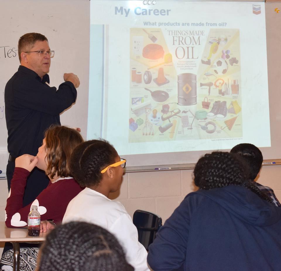 Career Fair 2019 - Students hearing from speaker