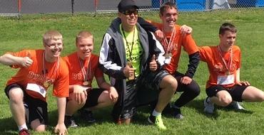 Boys relay team