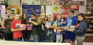 Operation Gratitude Candy Give-Back Letter Writing Campaign
