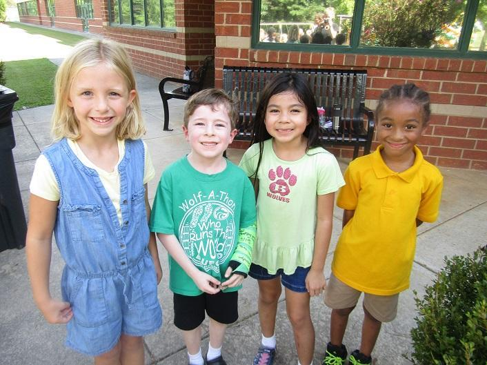 BES Students Bright Smiles