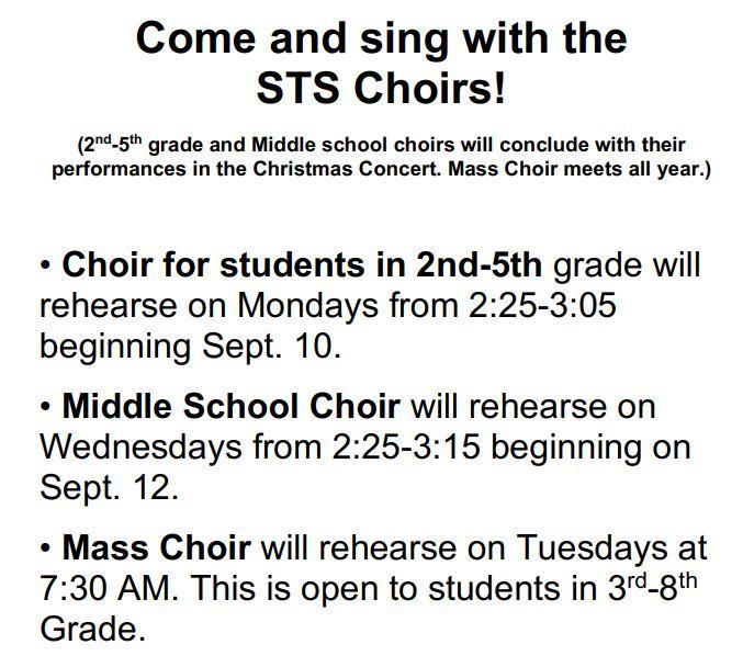 STS Choir
