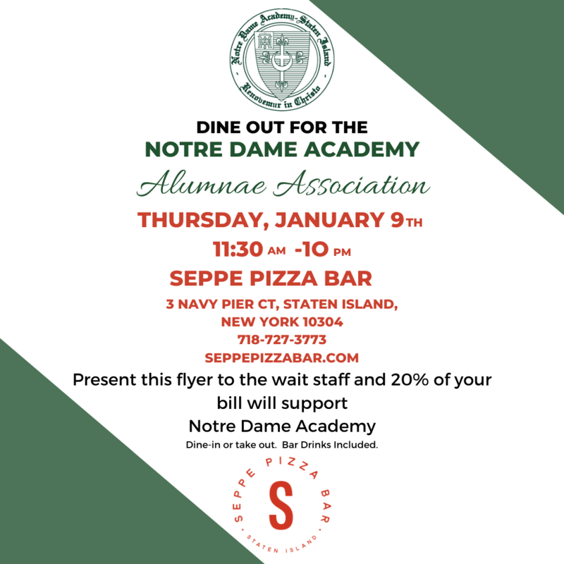 Support NDA and Dine out at Seppe Pizza bar TODAY! Featured Photo