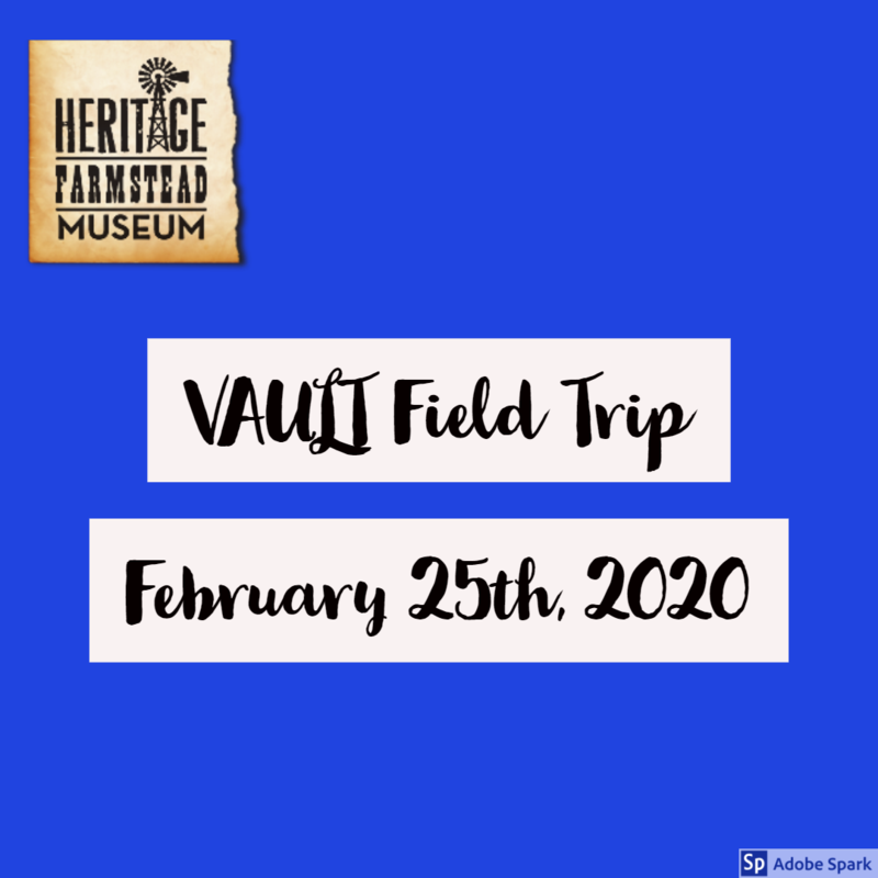 Vault Field Trip to Heritage Farmstead Museum in Plano Thumbnail Image