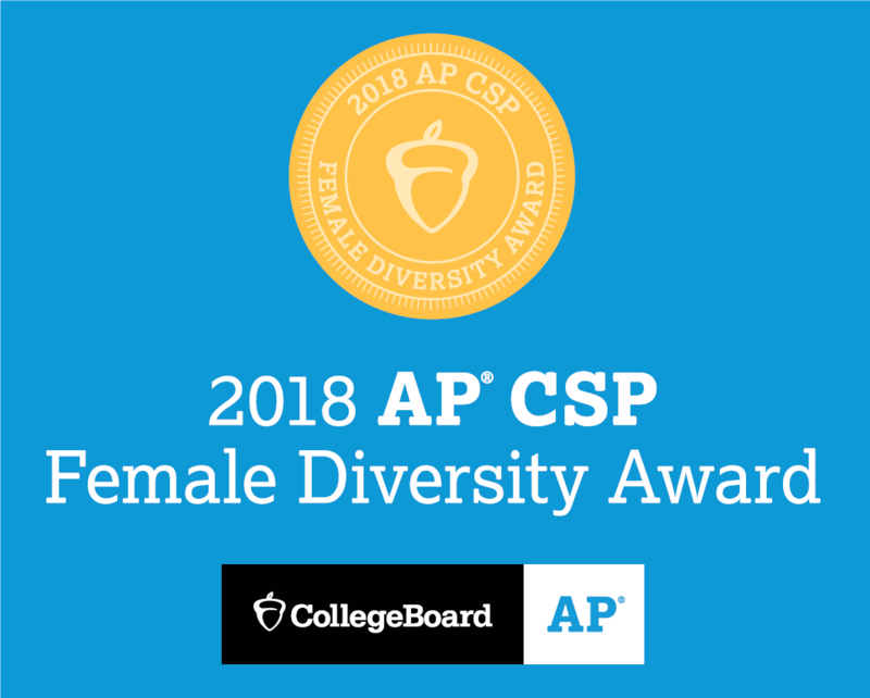 2 WUHSD Schools Honored with Female Diversity Award Featured Photo