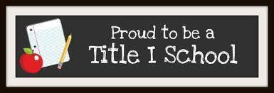 proud to be a Title 1 school