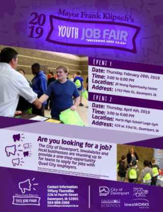 2019 Youth Job Fair Featured Photo