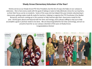 Shady Grove Elementary Volunteer of the Year!.png