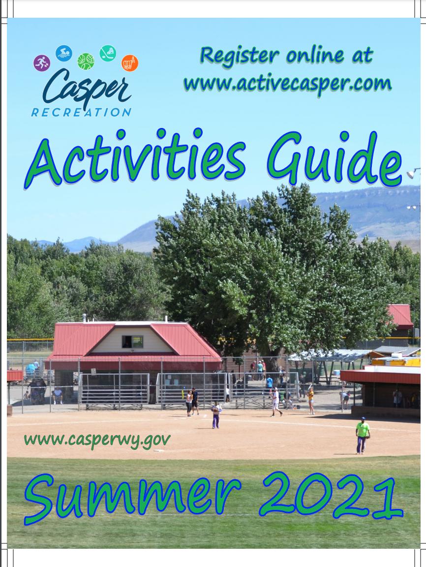Casper Summer Activities Guide flyer