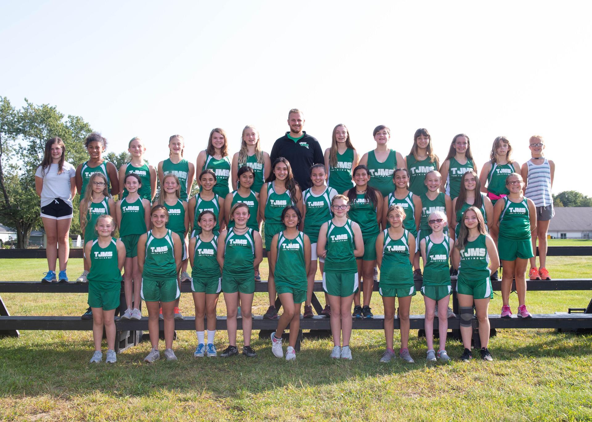 Girls XC team 2020
