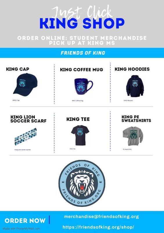 King Merch available at FriendsOfKing.org Featured Photo