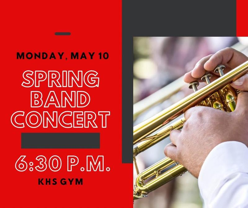 Band Spring Concert Featured Photo