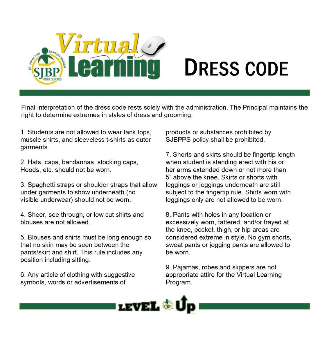 virtual dress code