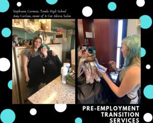 THS student Stephanie Carman receives Pre-ETS