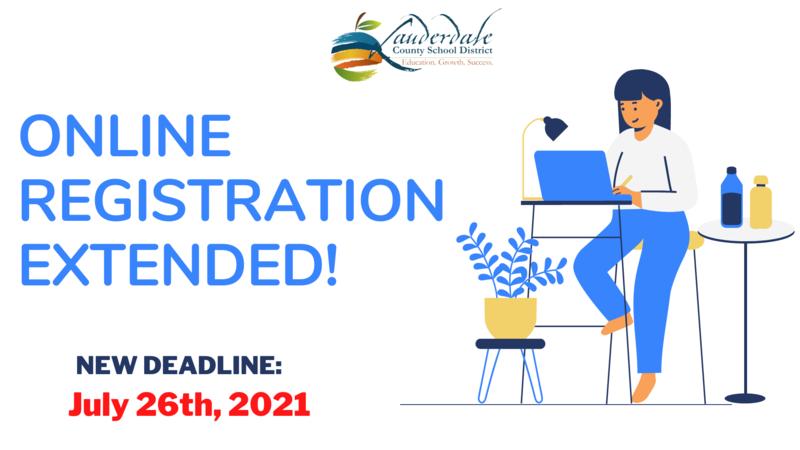 Online Registration Deadline Extended Graphic