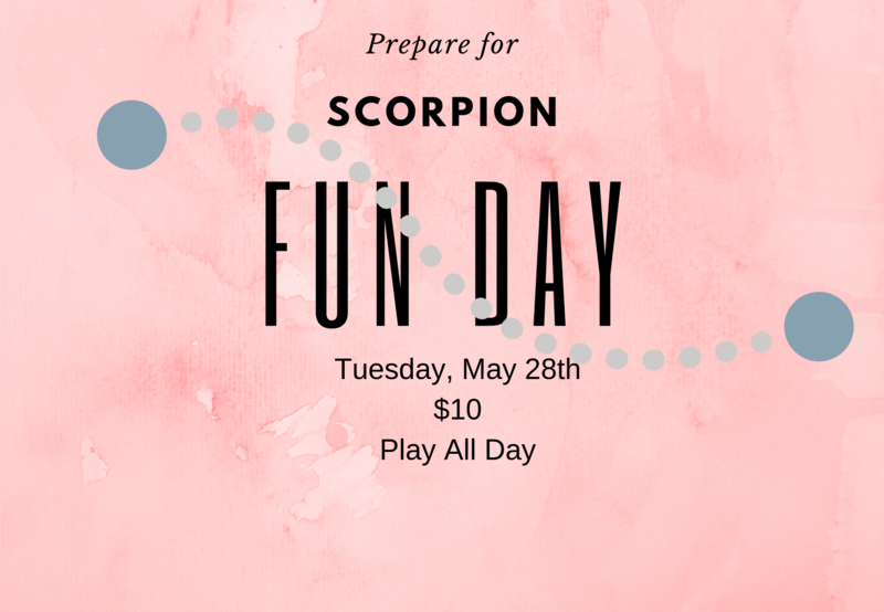 Scorpion Fun Day Thumbnail Image
