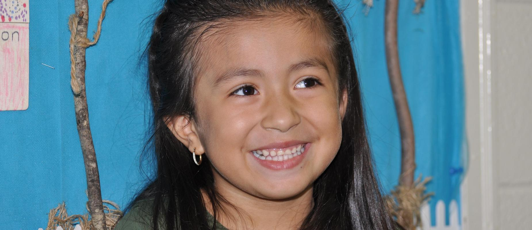Hamilton Crossing Elementary School Student Mayah DeLoera