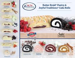 Butter Braid / Cake Roll Fundraiser flyer