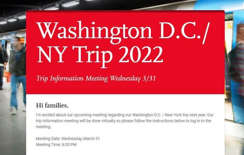 DC/NY Trip