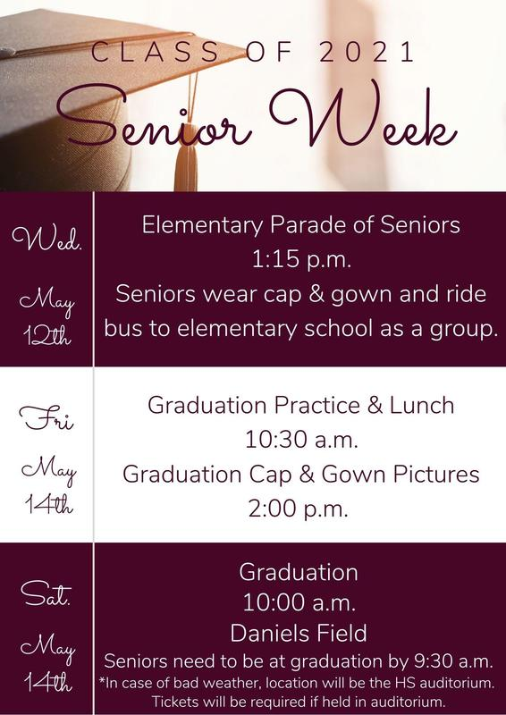 Senior Week Info