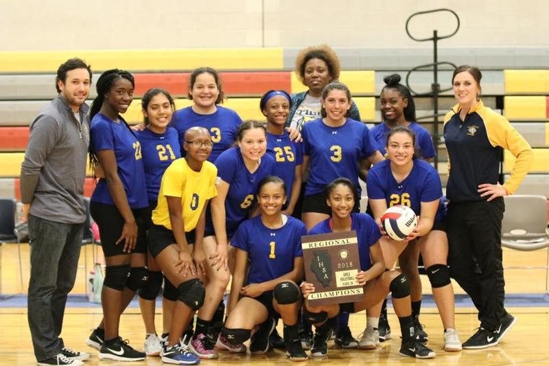 Girls' Varsity Volleyball Wins Regional Championship Featured Photo