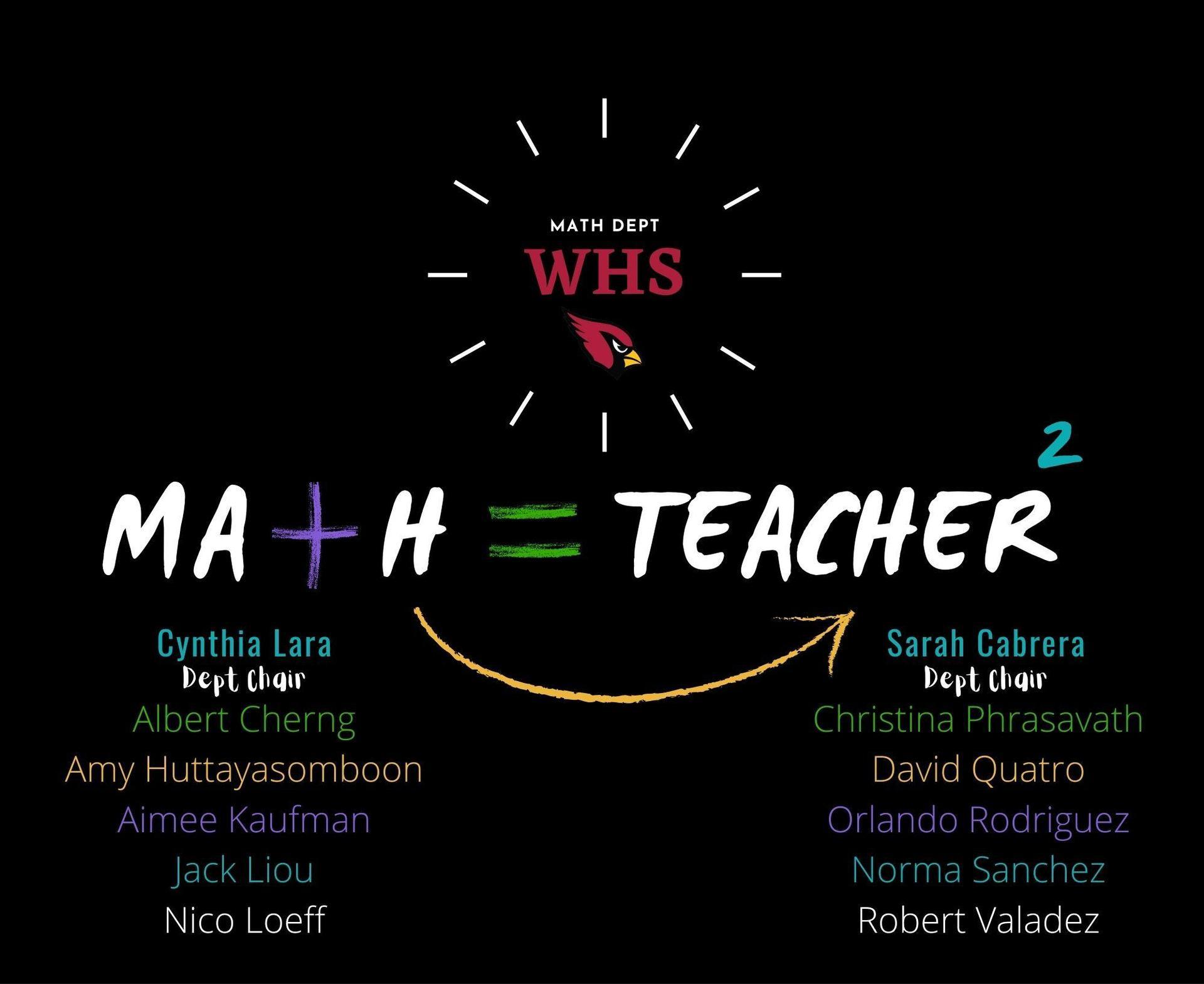 WHS Math Department