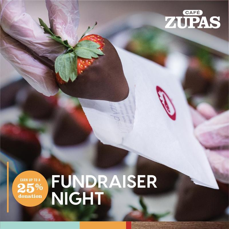 Fundraiser Night: Cafe Zupas Thumbnail Image