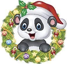 Christmas Panda