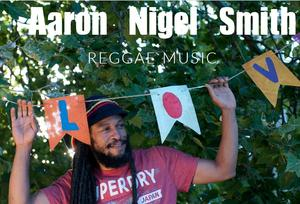 Picture of a male, Aaron Nigel Smith, a reggae performer.