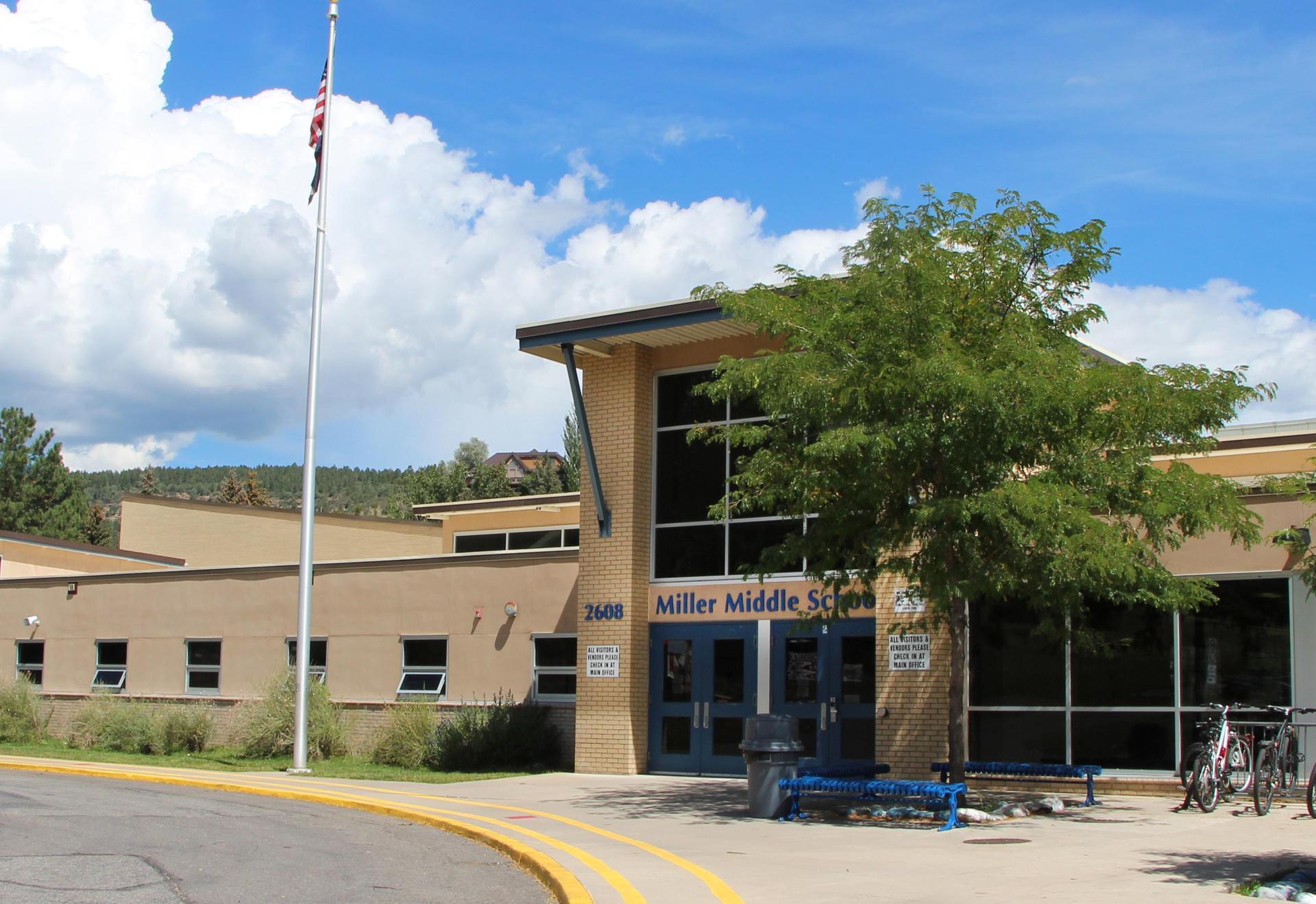 Miller Middle School exterior