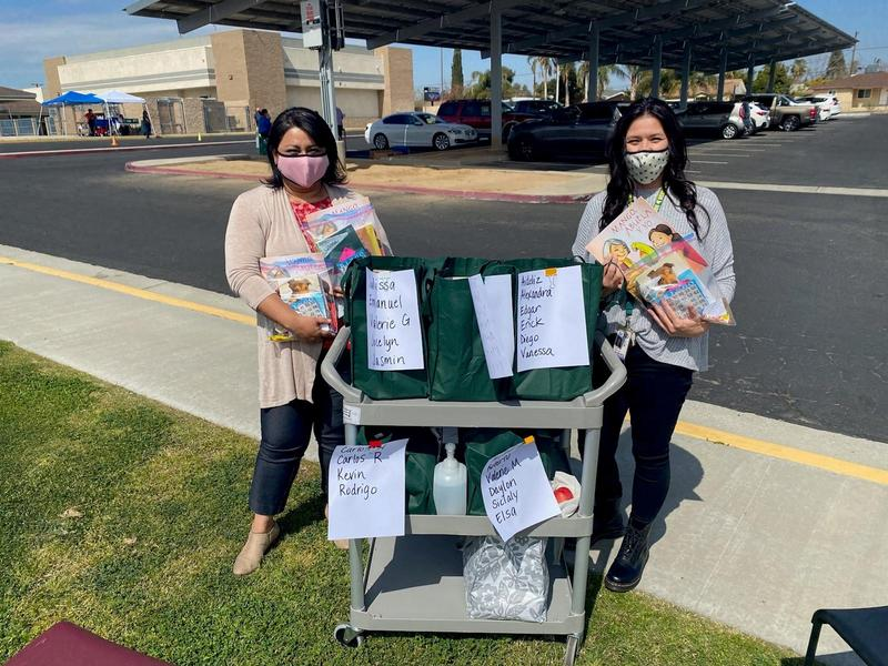 Reading Grants Puts Books into Hands of Sierra Students Featured Photo