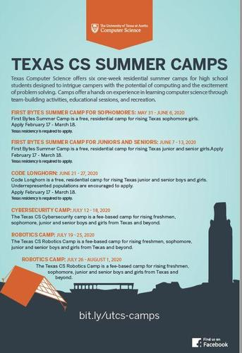 Texas CS Summer Camps