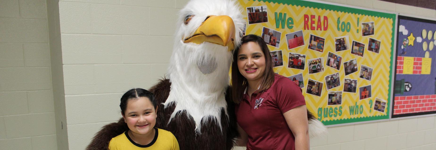 Waitz Eagle at Meet the Teacher Night