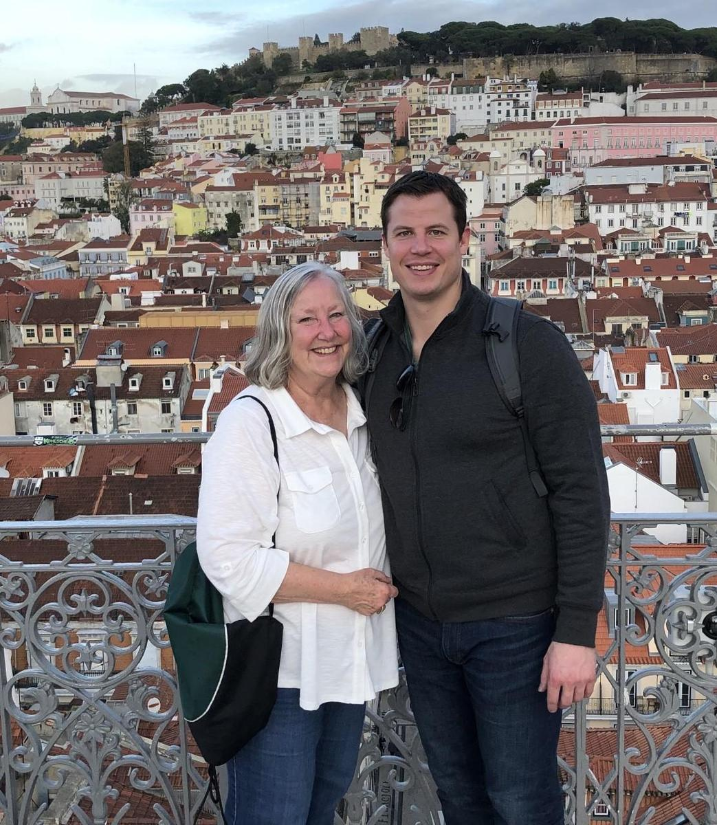 Rob and I in Lisbon