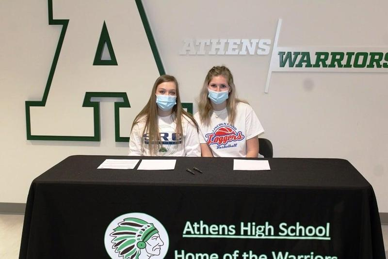 Clark and Morgan Sign to Play College Sports Featured Photo