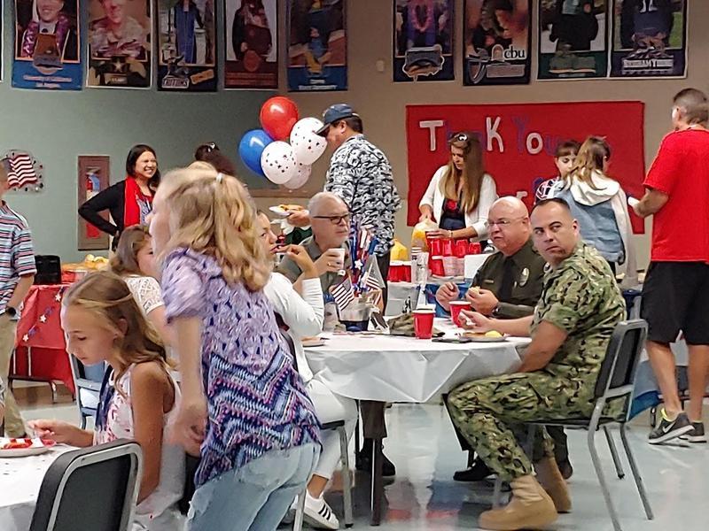 Dartmouth Middle School Patriots Day Celebration