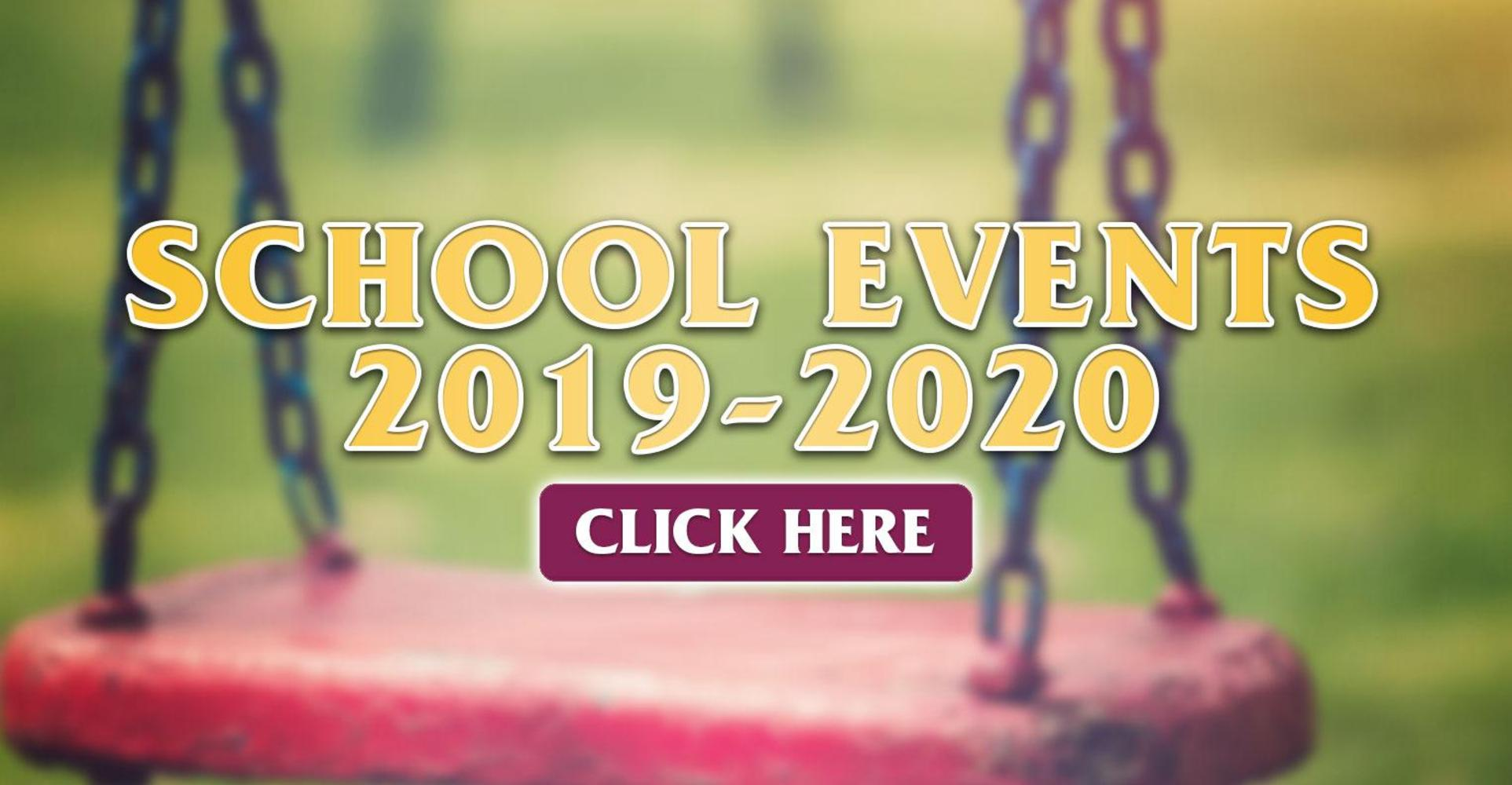Parkview School Events 2019-2020