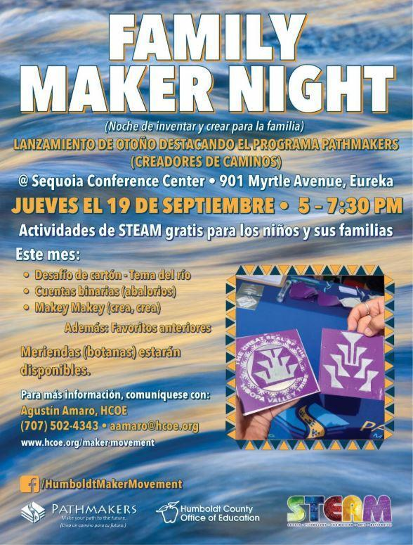 Maker Night Spanish