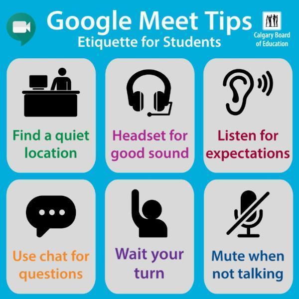 Distance Learning Etiquette Thumbnail Image