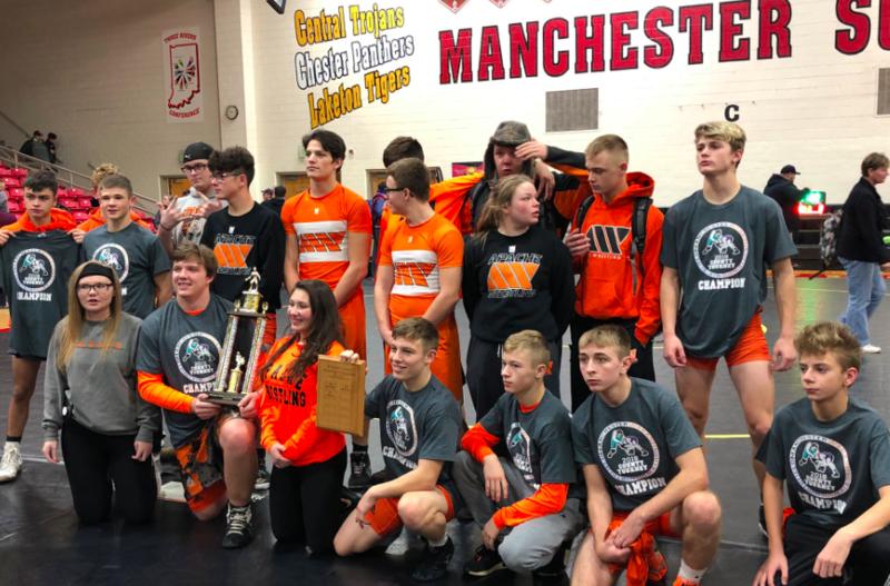 Wabash High School wrestlers