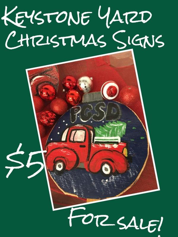 christmas ornaments for sale at gautier middle