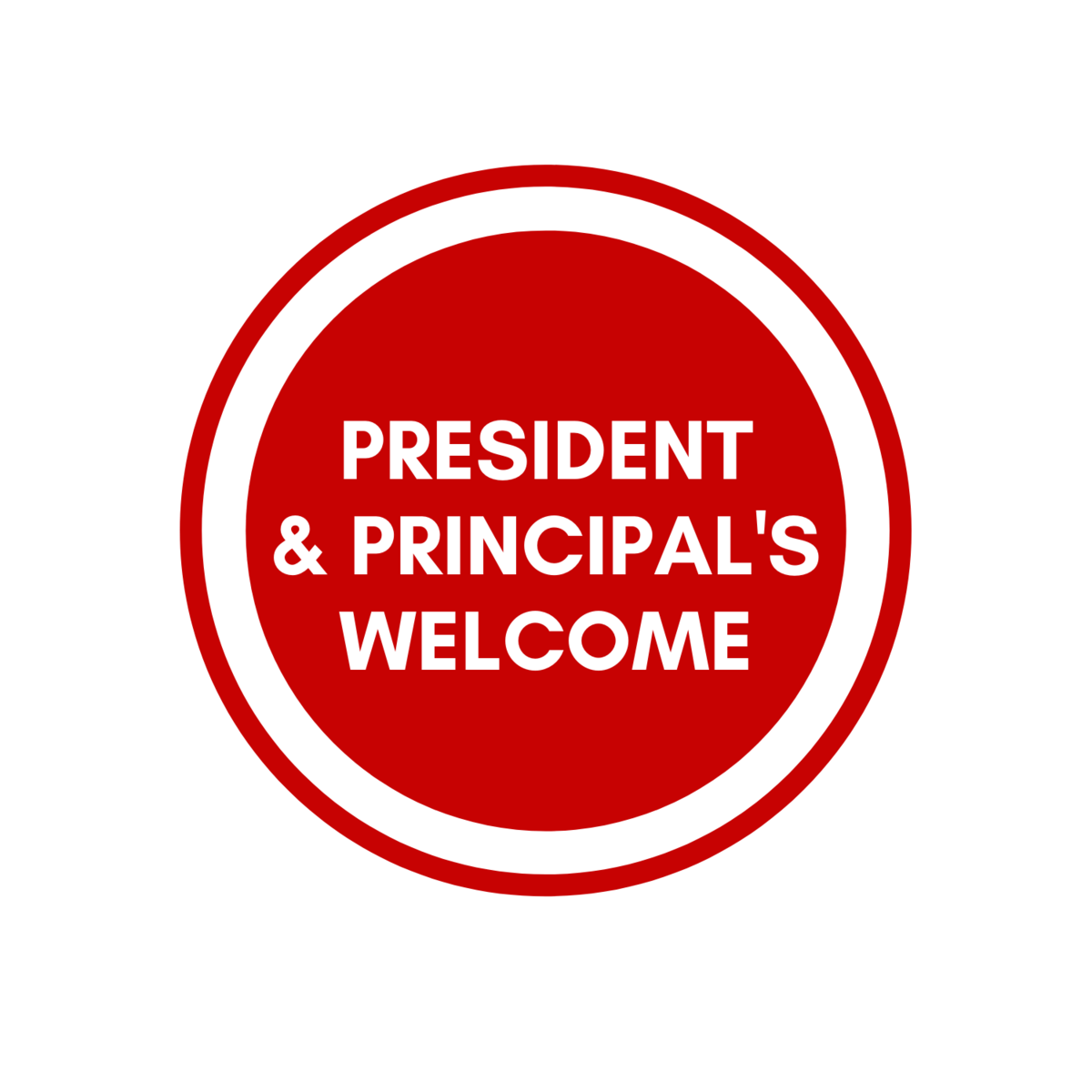 president and principals welsome