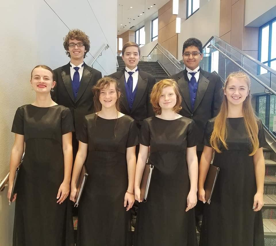 All- Region Mixed Choir Members