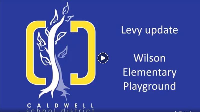 Wilson Elementary School Levy - New Playground! Thumbnail Image