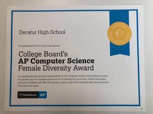 Computer Science Award