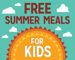 Free Summer Meals for Kids