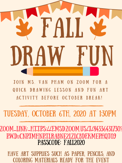 Fall Draw Event on 10/6!