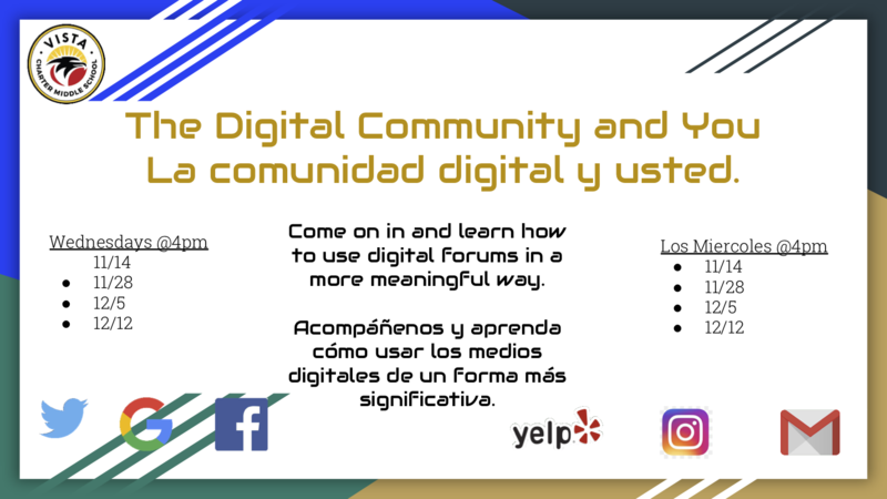 The Digital Community and You /  La comunidad digital y usted. Featured Photo