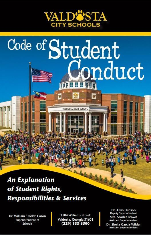 2018 Code of Student Conduct