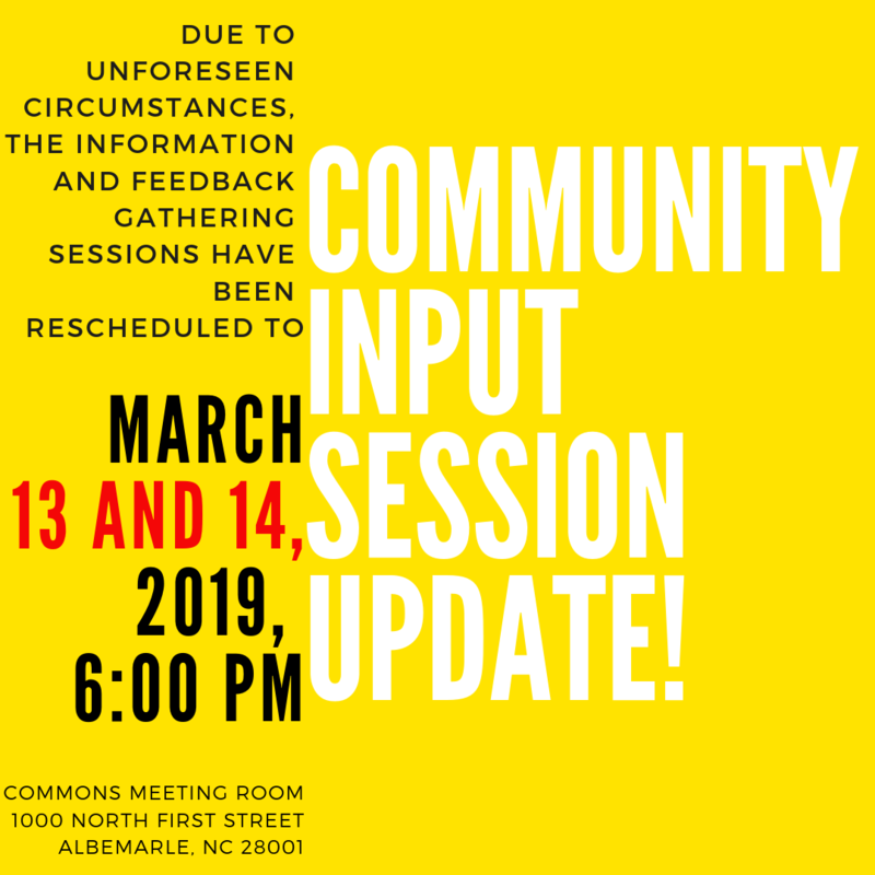 Community Input Meetings Update Featured Photo